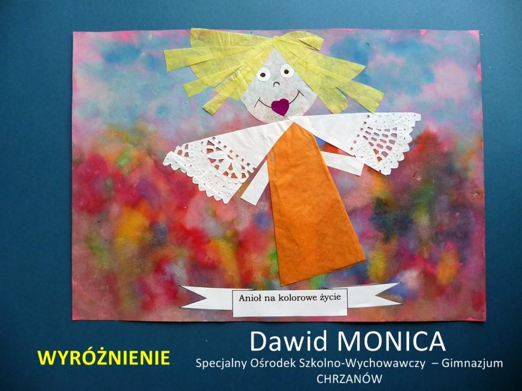 Dawid Monica - wyróżnienie