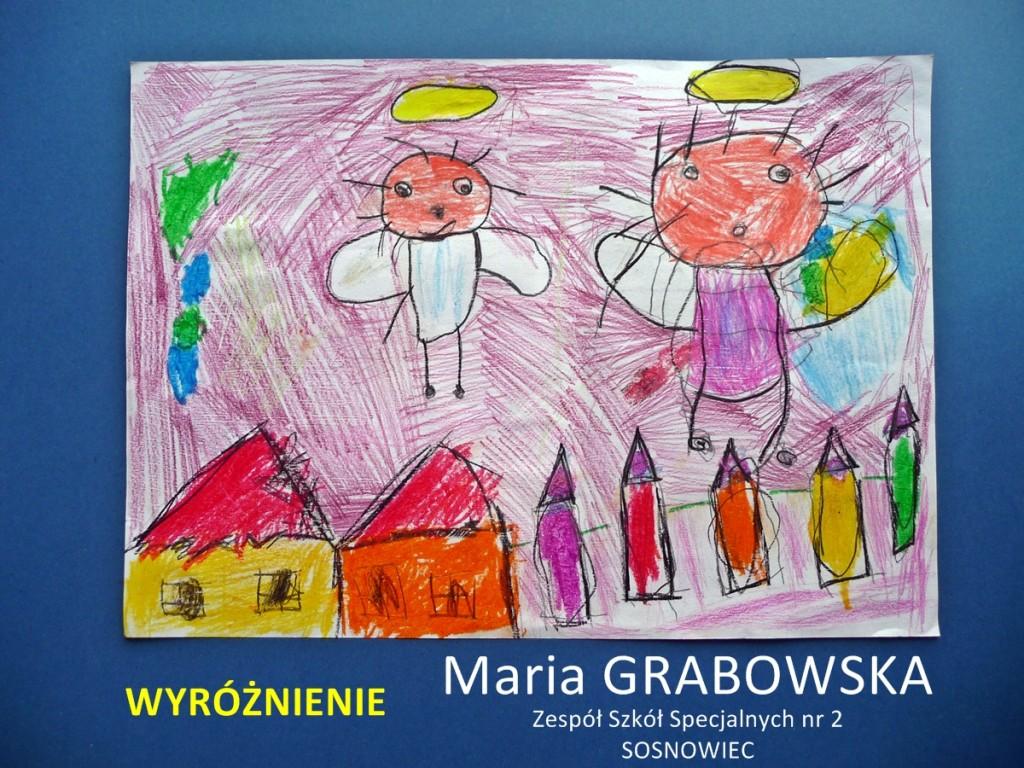 Maria Grabowska - wyróżnienie