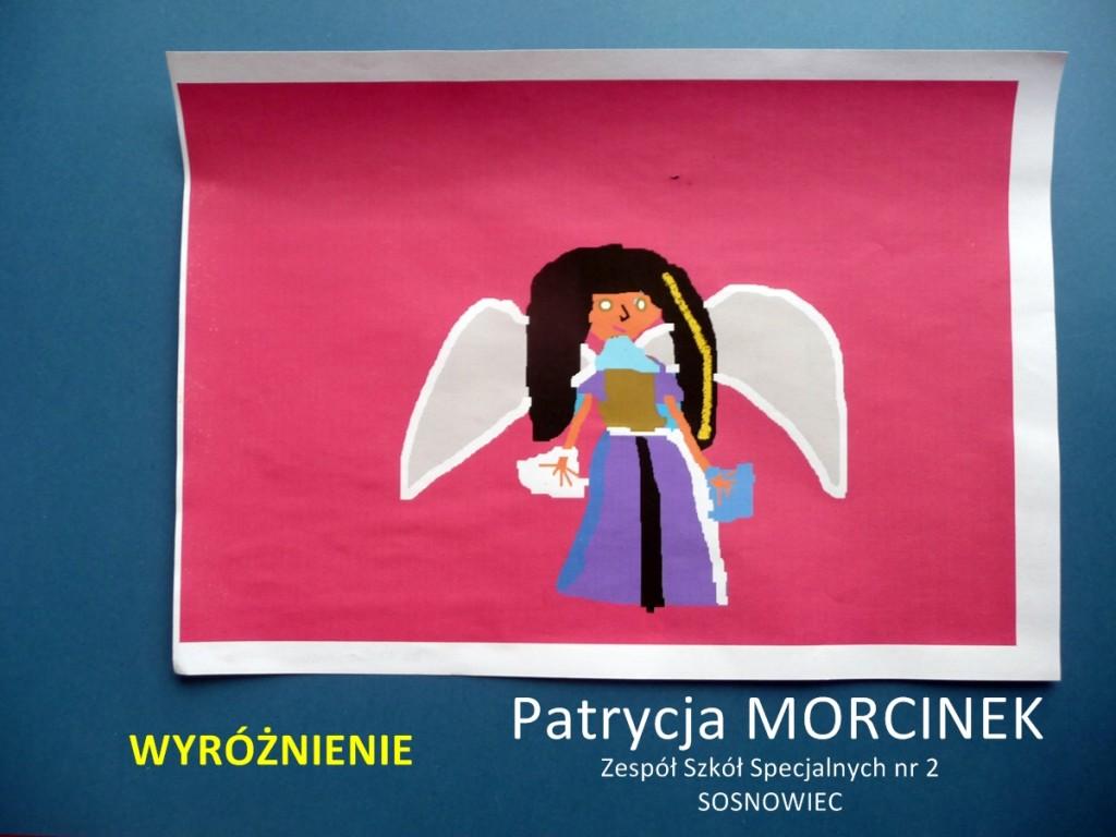Patrycja Morcinek - wyróżnienie